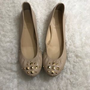 J. Crew Cece flats made in Italy size 8